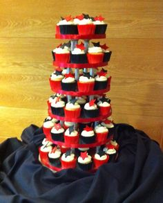 Hauge Wedding Red Black and White Inspiring Ideas