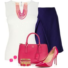 """""""Summer Office Style Contest"""" by momma2140 on Polyvore"""