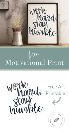 Love free printables? Me too! This gorgeous downloadable print will add rustic farmhouse style charm to your décor … for free! DIY decorating on a budget? Done and done!