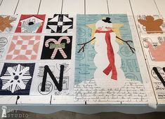 Snow-A-Long, Wk 5 B   Great Joy Studio #snowsweet #sweetsnowalong #greatjoystudio #rileyblakedesigns #jweckerfrisch #sewalong #sewing #quilting #christmas #christmasfabric Side Borders, Row By Row, Candy Making, Riley Blake, Technical Drawing, Easy Quilts, Studio, To My Daughter, My Design
