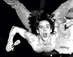 Iggy Pop, the best photo ever. Rock Iggy Rock!!!!!!!!!
