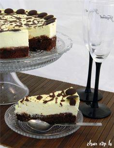 עוגת בראוניז שוקולד וגבינה - תפוז בלוגים