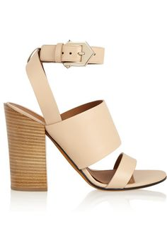 Givenchy   Sara sandals in beige leather   NET-A-PORTER.COM