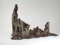 bombed out building (model)