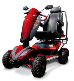 """Disponibile nel colore Rosso lo scooter elettrico VITA S12X Wimed è il più elegante e potente scooter in circolazione. Ciò che rende questo veicolo così speciale è la sua velocità massima di 18 km/H per un tragitto massimo di 45 Km. Un altro vantaggio è il suo design innovativo e robusto con 4 ruote di dimensioni superiori alla media (15''x 6,3"""" la ruota motrice posteriore e 15''x 6,3'' quella anteriore) che permettono una facile manovrabilità su qualsiasi terreno all'aperto. La presenza di…"""