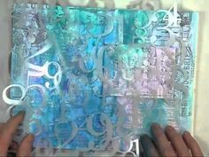 Video by Shari Carroll on Fantastic Art Journaling This is the Fifth Video on this By Shari using Supplies found at the Simon Says Stamp Store. 2013