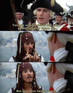 Loovvveee of course everyone's heard about you. Captain Jack is daaa beeesssstttt!