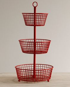 3 Tier Wire Basket |
