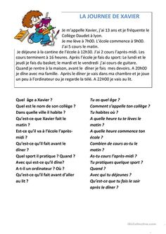 French Language Lessons, French Language Learning, French Lessons, French Flashcards, French Worksheets, French Teaching Resources, Teaching French, French Adjectives, Learning French For Kids
