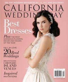 "La Venta Inn + Gowns Galore in ""Summer Rose"" // California Wedding Day Spring/Summer 2013 Magazine // P.60-69"