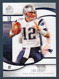Tom Brady # 16 - 2009 Upper Deck SP Signature Football