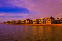 The Battery on East Bay Street along the Cooper River, in the historic district of Charleston, South Carolina--photo by Blaine Harrington. Charleston is beautiful and rich with history.