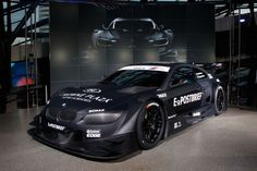 Few things are as formidable looking as a German touring car. The 2012 BMW M3 DTM.