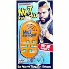 Amazon.com: Mr T In Your Pocket: Toys & Games