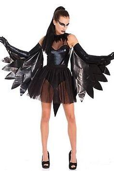Black Raven/Swan Costume Coquette M6206 Black One Size Fits All #Coquette
