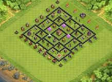 Aulia TH 8 Clash of Clans Base Layout