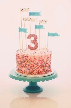 What A Gorgeous Sprinkles Cake