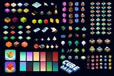Isometric Game Characters by Game_Designer on @creativemarket