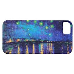 4eb70eaa1c978a Starry Night Over the Rhone Van Gogh Fine Art Case-Mate iPhone Case
