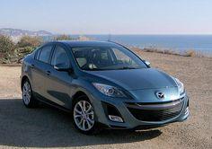 2010 Mazda3, gunmetal blue