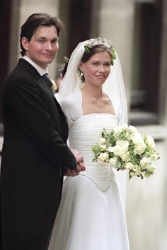 Lady Sarah Armstrong Jones and Daniel Chatto, July 14, 1994 | Royal Hats.....Lady Sarah Armstrong-Jones and Daniel Chatto were married in London on July 14, 1994 and celebrated their 20th wedding anniversary yesterday.