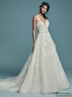 982a984b66a7 Maggie Sottero: Meryl Lynette - New York Bride & Groom, Charlotte, NC  Wedding