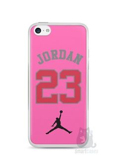 Capa Iphone 5C Michael Jordan 23