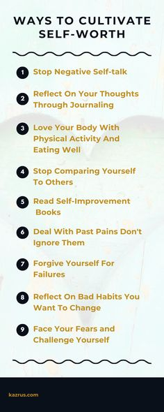 How to love yourself: ways to cultivate self-worth