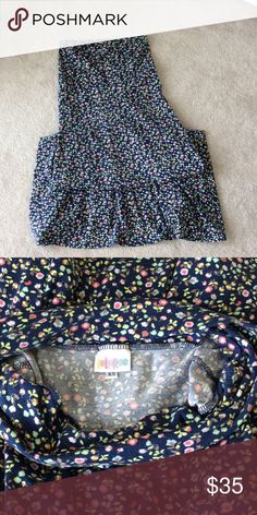LuLaRoe XS Maxi Worn one time and just sits in my closet. Comes from a smoke free home LuLaRoe Skirts Maxi