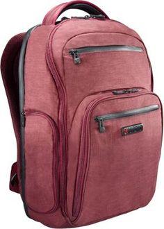 792278ae9 ecbc Hercules Laptop Backpack Berry - via eBags.com! Best Laptop Backpack,  Sling