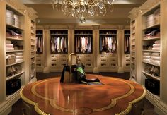Clive Christian Kitchens Showrooms | Luxury Closets....THE THIRD WARDROBE DRESSING ROOM OF FOUR....KEEPER!!!! 'Cherie