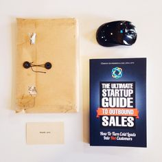 Received an unexpected gift from our friends at @Closeio -- 'The Ultimate Startup Guide to Outbound Sales' by @Steli