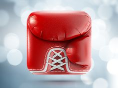 Boxing Glove App Icon by Ramotion