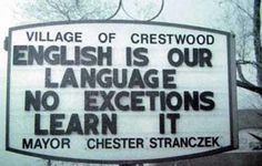 funny misspelled sign learn english