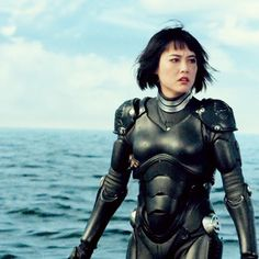 Inspiration for female character's outfit, a piloting suit: Source: Pacific Rim - Mako Mori