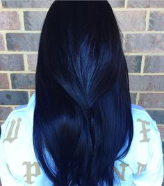 20 Awesome Blue Black Hair Looks To Raise Charm - Megan Griggs - Blue Hair Black Girl, Pastel Purple Hair, Blue Ombre Hair, Hair Color Purple, Hair Color For Black Hair, Cool Hair Color, Dark Hair With Blue, Color Black, Colour