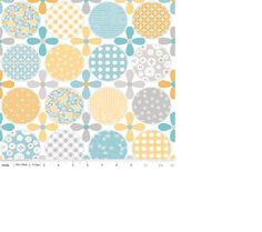 Riley Blake Designs Polka Dot Stitches by Lori Holt by OlieandEvie, $8.50