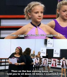 haha i do love Dance Moms