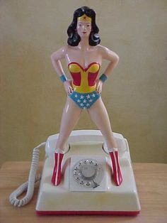 wonder woman telephone.