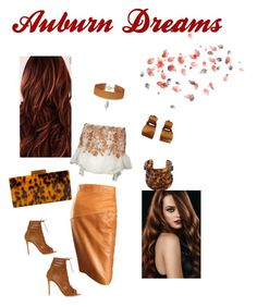 Auburn dreams by lilygracestflowers on Polyvore featuring polyvore, fashion, style, Black Coral, Gianvito Rossi, Alexander McQueen, Hervé Van Der Straeten, Vanessa Mooney and clothing
