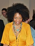 Afro. Big hair hairstyle, featured heavily in Afro-American culture, popular through the 1970s in the United States of America.