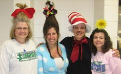 More Who hair and Dr. Seuss Characters