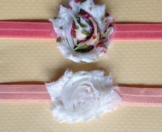 months Little Miss Romance Headband Set by BooLouBaby on Etsy Little Miss, 12 Months, Headbands, Romance, Gift Wrapping, Handmade, Etsy, Paper Wrapping, Head Bands