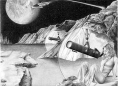 Sci Fi Art, Stargazing, Don't Forget, Art Pieces, Pencil, Group, Facebook, Future, Awesome