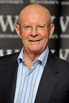 "Wilbur Smith, writer - favorite author.. he writes of Africa and I ""think"" I've read all his books.. next one is due 10/8/13"
