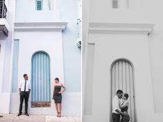 Old San Juan Puerto Rico Photo Session - Engagement