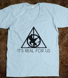 The Hunger Games meets Harry Potter! (http://pinterest.com/claudiaspins/i-have-plenty-of-fire-myself-what-i-need-is-the-da/) o-o