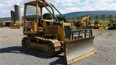 1989 Cat Caterpillar D3C Crawler Track Loader Construction Machine Bulldozer for sale at www.quesalesinc.com for $19,500.00