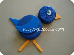Silly Eagle Books: more bottle cap animals!