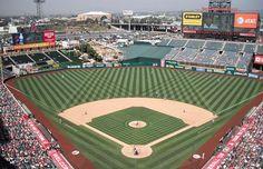 Anaheim Stadium, Anaheim, Calif.